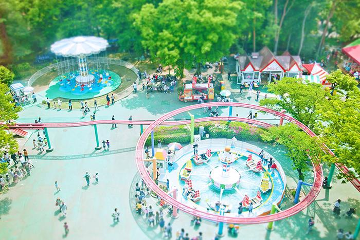 遊園地,むさしの村